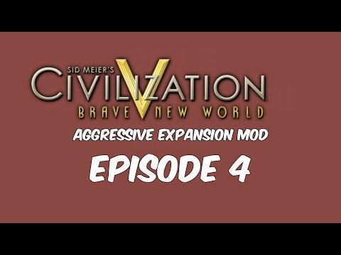 Sid Meier's Civilization 5 Aggressive AI Mod Ep.4 - War Preparations |