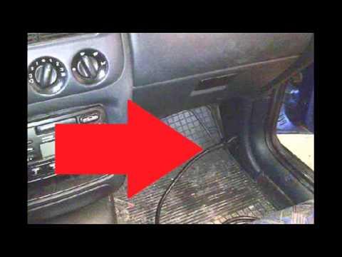 Ford Escort Mk6 Diagnostic OBD2 Port Location Video YouTube