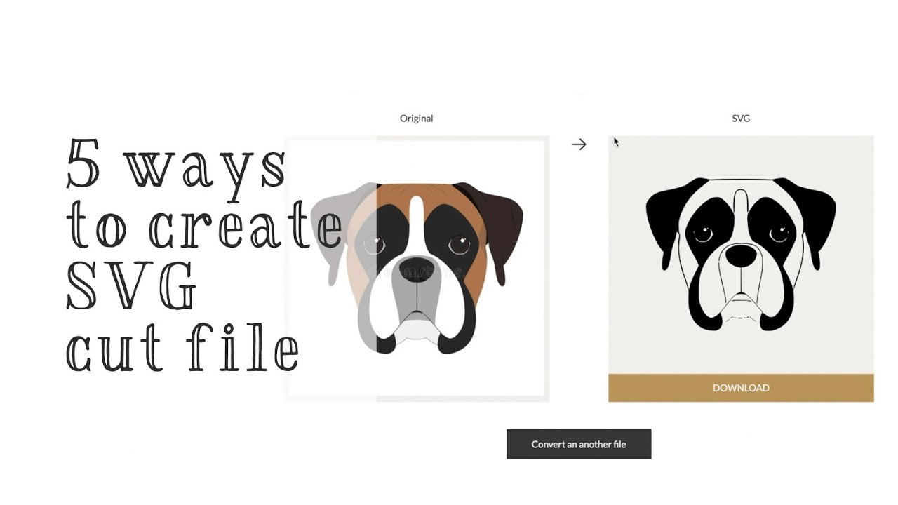 Download 5 Ways Make SVG Cut File that are Compatible with Cricut ...