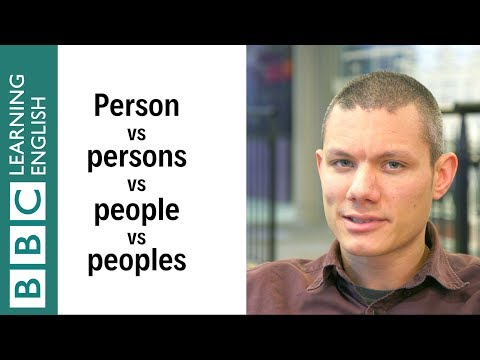 EIAM: Person vs Persons vs People vs Peoples