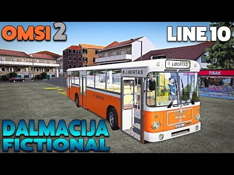 OMSI 2 Let's Play #36 | MAN SU 220 | Dalmacija Fictional: Line 10