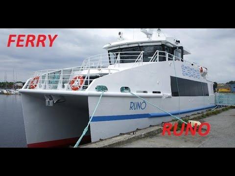 """Ferry """"RUNO"""" route Parnu - island Ruhnu & Roomassaare - Ruhnu"""