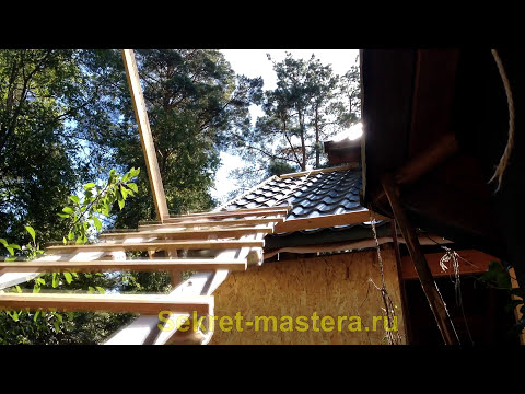 Как сделать лестницу на крышу для работы с дымоходом
