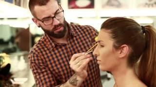 Maquillaje Moros y Cristianos - Making of   Escuela de Maquillaje Aarón Blanco II