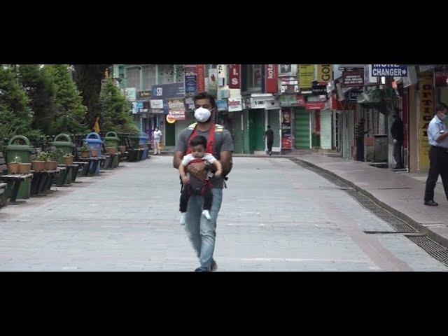 Weeklong lockdown in the Gangtok Municipal Corporation( GMC) area began from today morning.