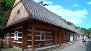 MUZEUM BUDOWNICTWA LUDOWEGO W SANOKU. Cz. 01 - SKANSEN W SANOKU - HD