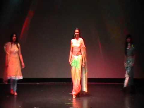 Fashion Show by MUM Students, Diwali Extravaganza 2011, Fairfield, IA