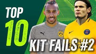 Hässliche TriKOTs - Noch mehr Kit Fails der Saison 2017/18