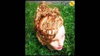 Колекційні вечірні зачіски