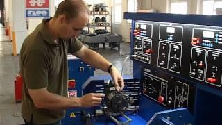 Презентация Э250 М - стенда для проверки снятого электрооборудования (генераторов и стартеров)
