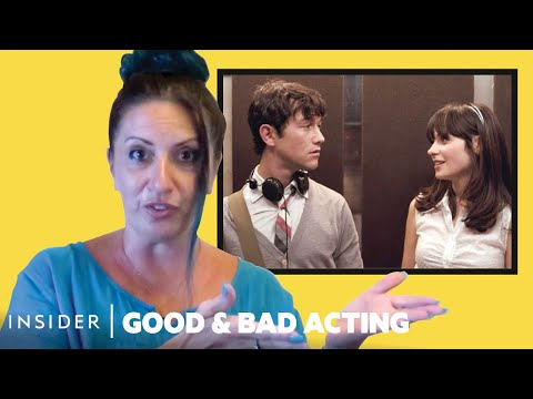 Pro Acting Coach Breaks Down 17 Love-At-First-Sight Scenes | Good U0026 Bad Acting