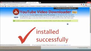 How To install YouTube Video downloader Chrome Extension in Developer Mode