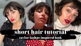 3 EASY Ways To Style A Short Bob With Bangs!