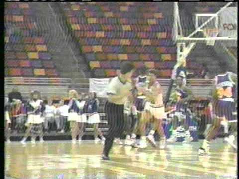 Pensacola Tornados 1989 Continental Basketball Association WEAR