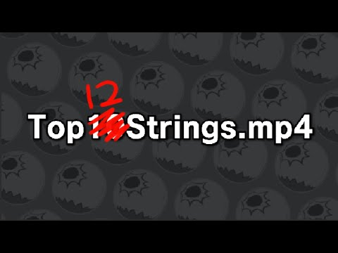These are my TOP 12 FAUST STRINGS - Top10Strings.mp4 - Guilty Gear Strive