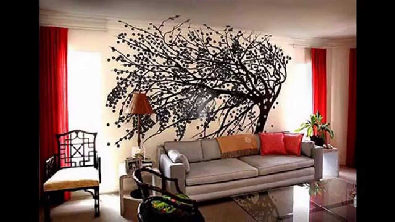 Decorating Ideas For Big Living Room Wall Teal Green And Red Youtube