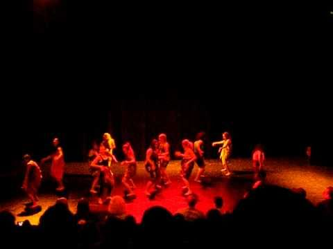 Da1 (Afro intro) - Twisted Feet DA's show 5 december 2010 - Choreographer: Miss Relli