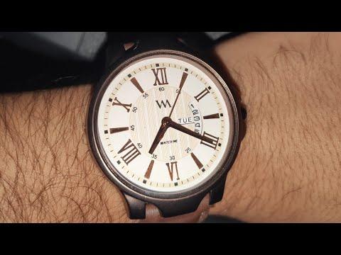 WM Men White Analog Watch From Myntra Unboxing-By Dhiren Budhwani