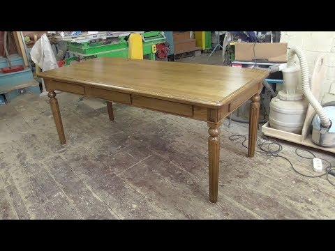 Обеденный стол с секретом, часть