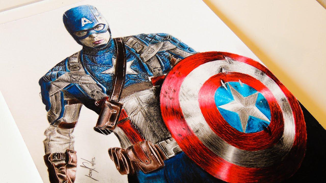 Desenhando O Capitão América (Captain