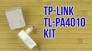 распаковка PowerLine TP-LINK TL-PA4010KIT