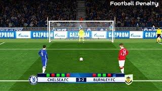 Chelsea vs Burnley | Penalty Shootout | PES 2017 Gameplay