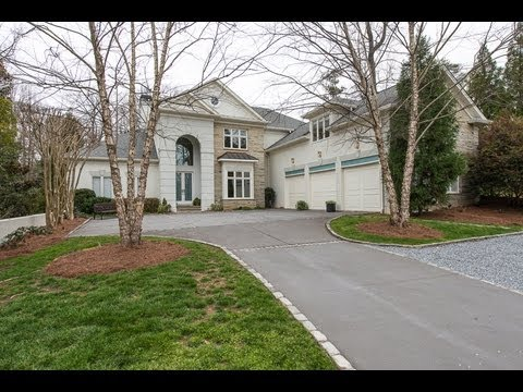 Luxury Homes In Buckhead Atlanta 1725 Mt Paran Road Youtube