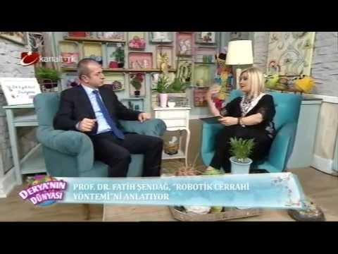 22.01.2015 Kanaltürk Derya'nın Dünyası - Prof Dr Fatih Şendağ
