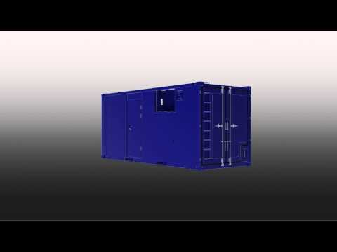 20' DNV2.7-1 Offshore Container Design (AutoCad)
