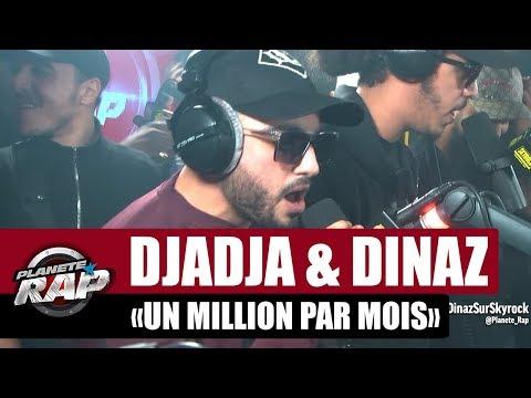 Youtube: Djadja & Dinaz«Un million par mois» (en live!) #PlanèteRap