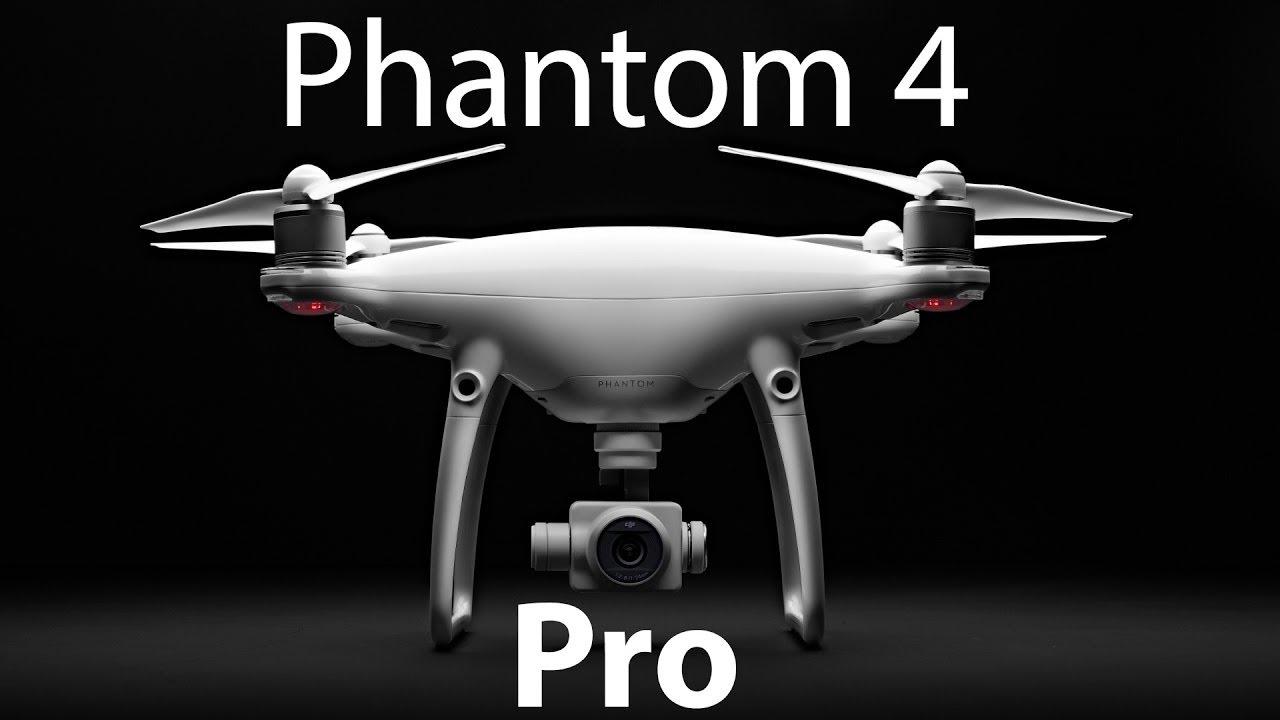 Квадрокоптер Phantom 4 - распаковка и первый запуск - YouTube
