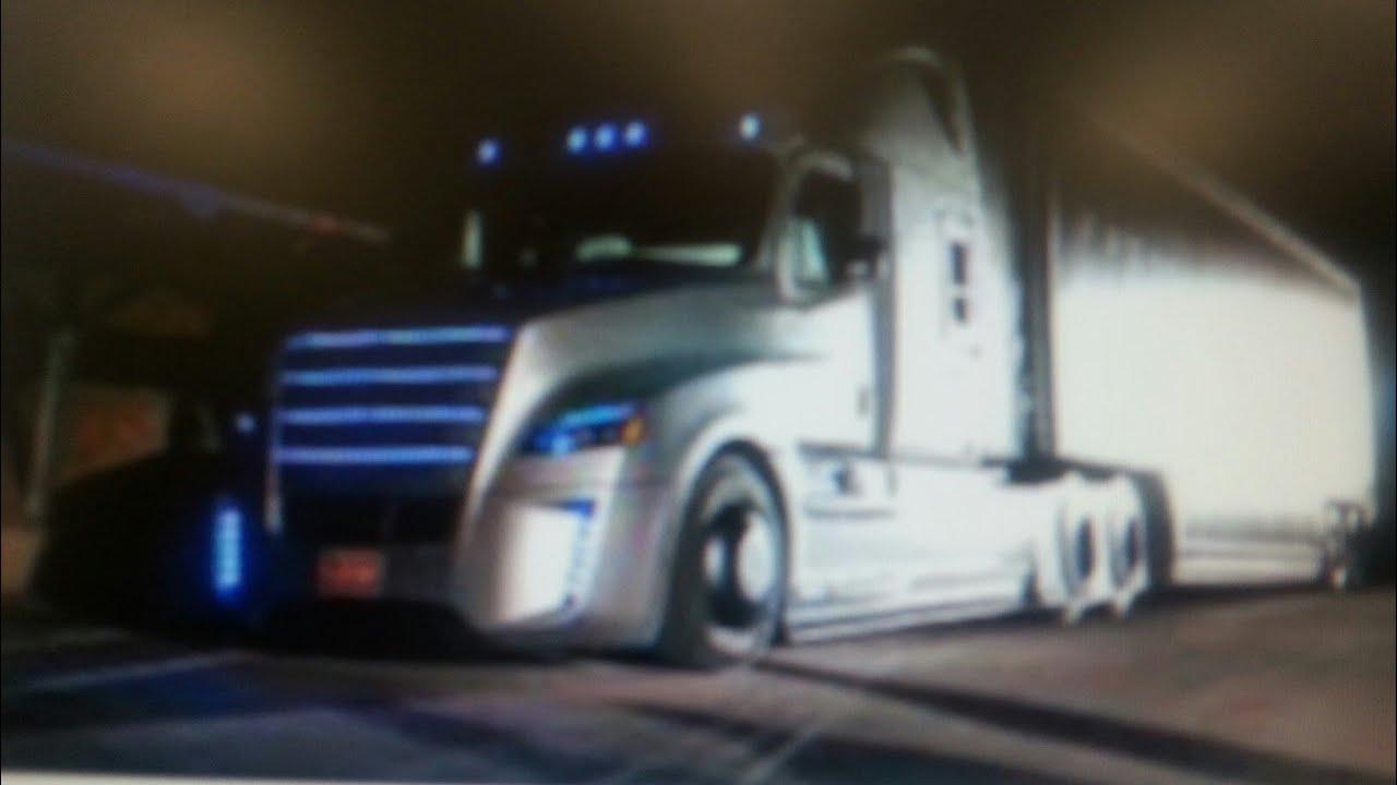 Tesla Semi Truck Interior >> Tesla 2170 battery electric semi truck class 8 Cummins vs Daimler Benz sweepstakes - YouTube