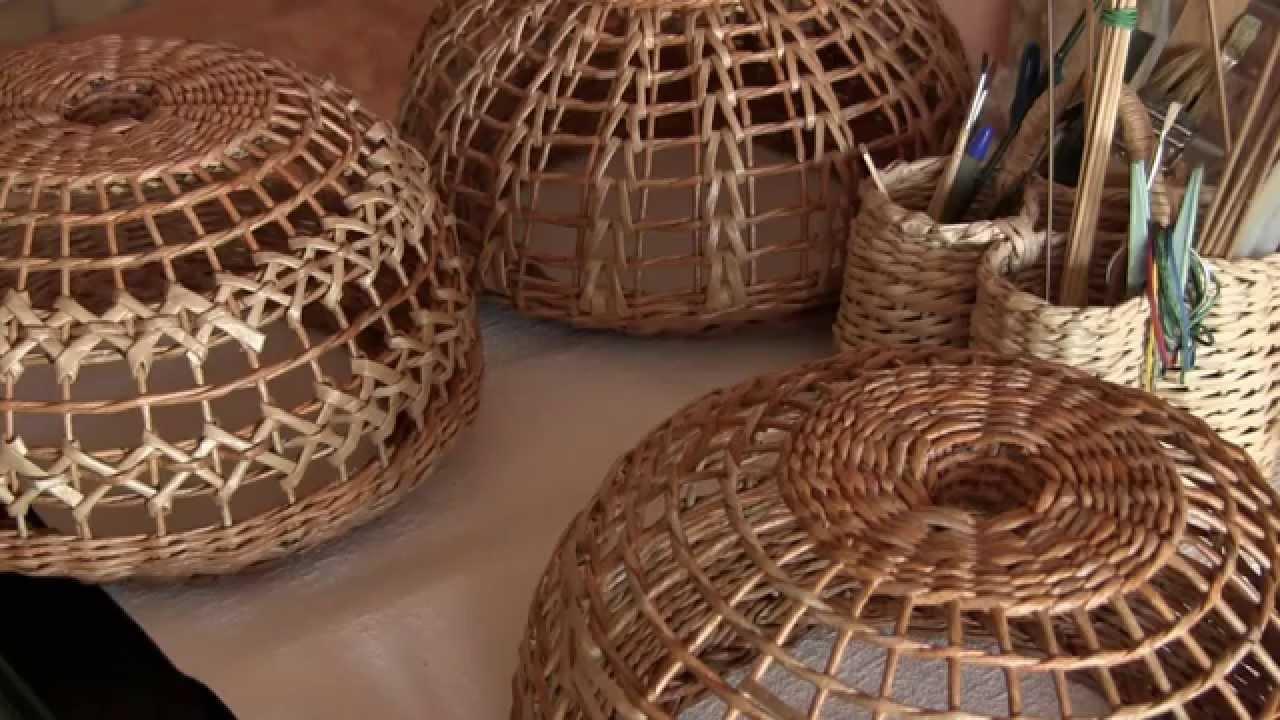 Плетение из газетных трубочек абажур мастер класс