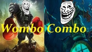 Repeat youtube video Wombo Combo: Blitzcrank + Thresh (just OP, OMG!)