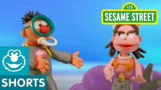 Sesame Street: Bert and Ernie Meet a Mermaid | Bert and Ernie's Great Adventures