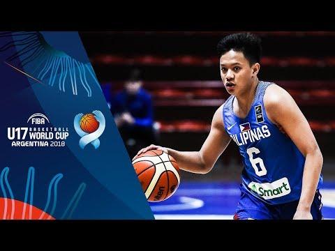 Batang Gilas def. New Zealand, 73-51 (REPLAY VIDEO) FIBA U17 Basketball World Cup 2018