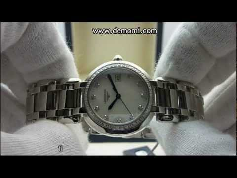 Longines PrimaLuna L8.112.0.87.6  steel, mother of pearl & diamonds dial