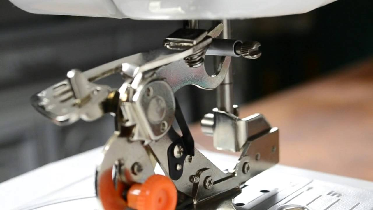 High Quality RUFFLER FOOT Attachment With INSTRUCTIONS Sewing Machine