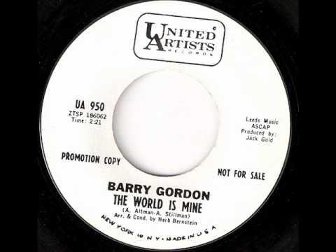 Barry Gordon - The World Is Mine - UNITED ARTISTS 950