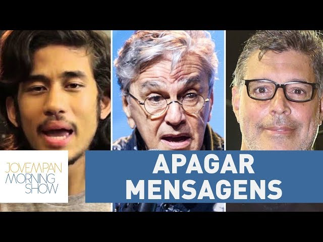 Justiça obriga Alexandre Frota e MBL a apagar mensagens contra Caetano Veloso