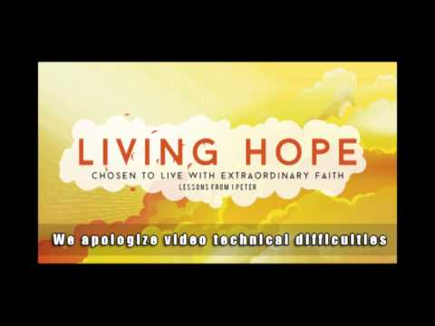 Living Hope: Marriage Roles -  Message 10/05/2014