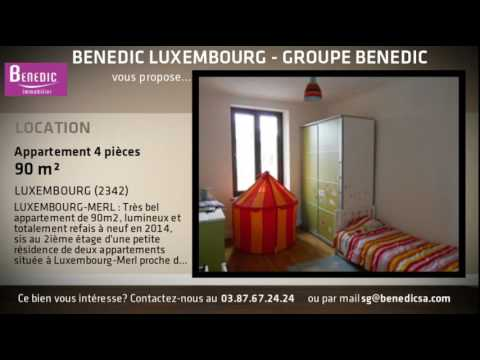 A louer - Appartement - LUXEMBOURG (2342) - 4 pièces - 90m²
