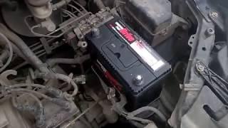 Заменил аккумулятор на Geely MK