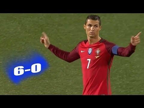 Download Portugal vs Faroe Islands 6-0 Full HD Extended Highlights