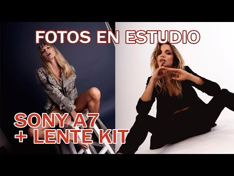 Como configurar SONY A7 en Estudio  Review + Fotos + Fashion Film