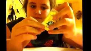 Taste test: minion tic tacs!