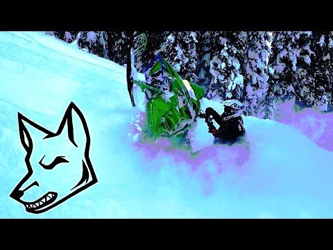 CRAZY Deep SNOW in Revelstoke - Snowmobiling