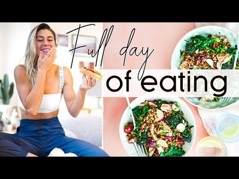 What I eat in a day: HEALTHY + SIMPLE Meal Ideas! thumbnail