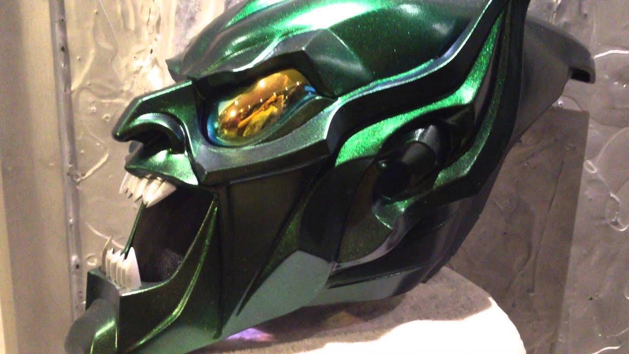 Green Goblin Helmet Youtube