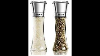 Becko Salt & Pepper Mill Manual Grinder Set Review